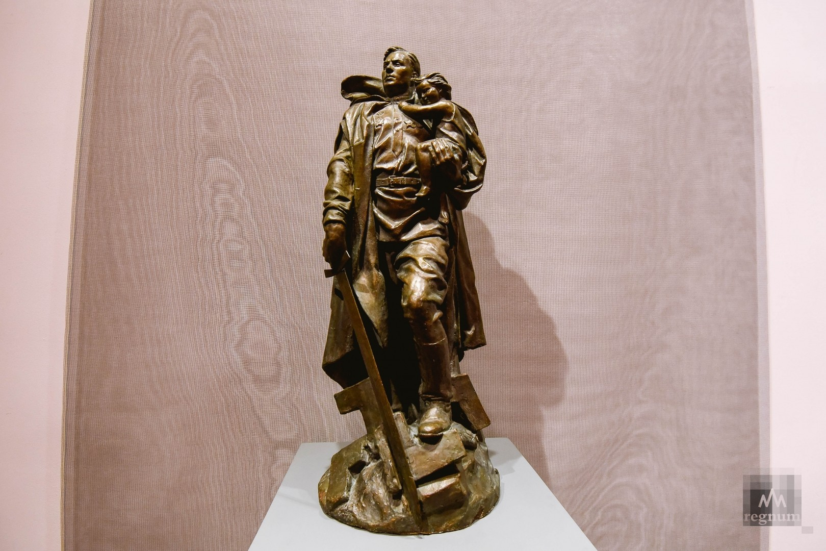 Модель памятника Воина-освободителя, 1949г