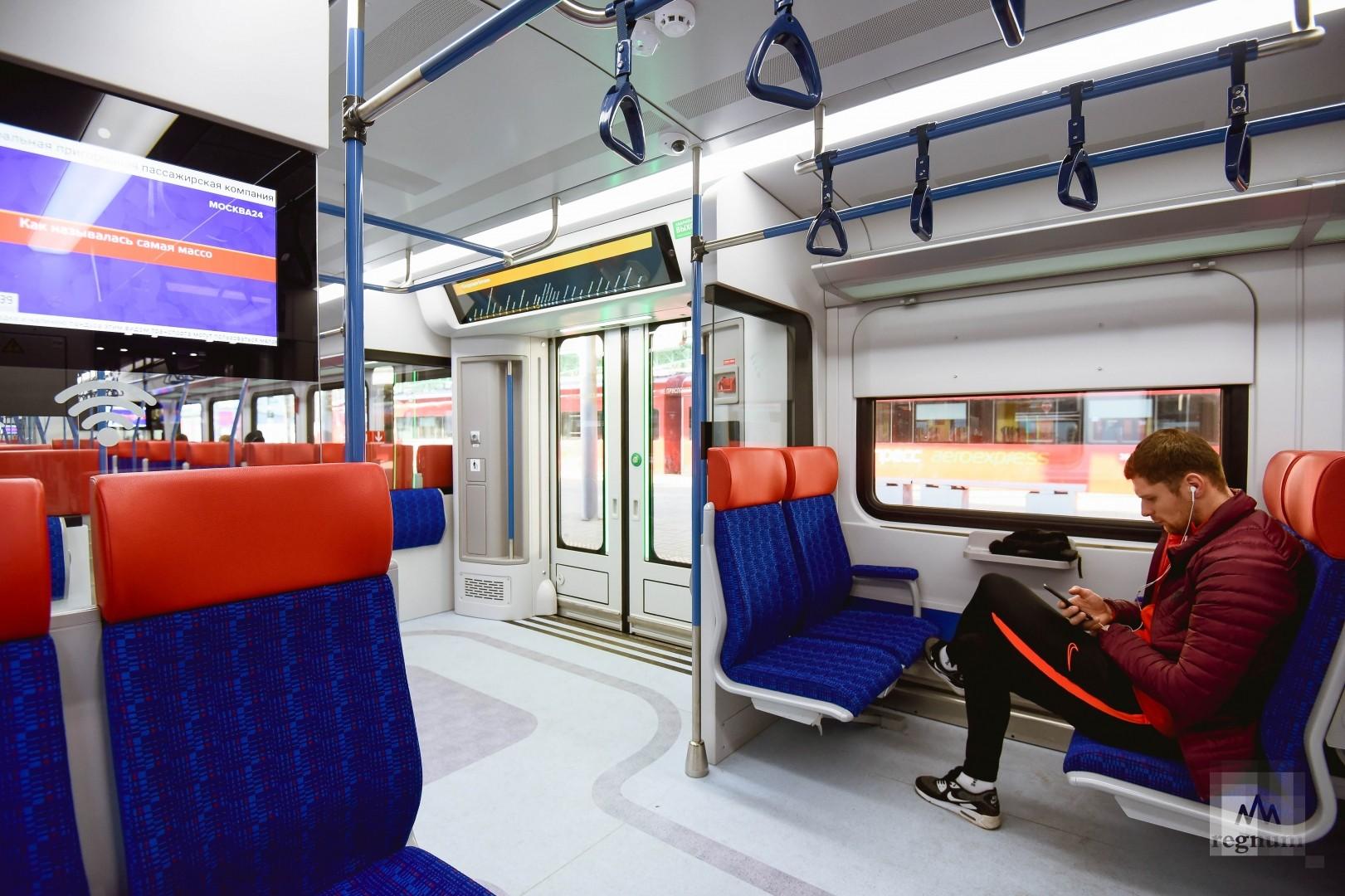 Салон поезда «Иволга»