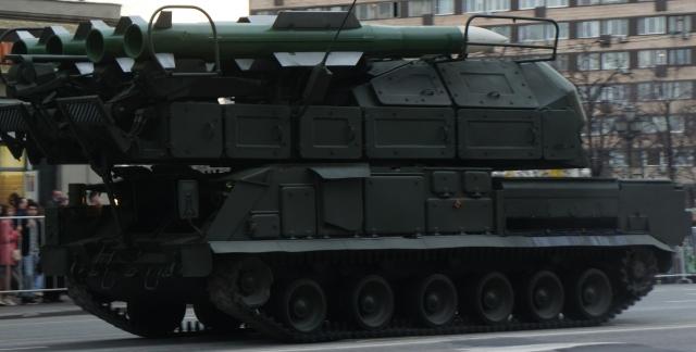 Зенитный ракетный комплекс «Бук — М2». ПВО Армении