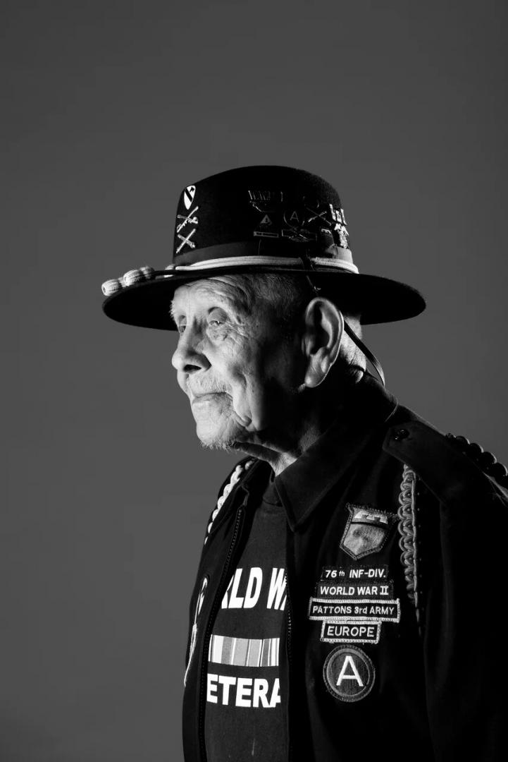 «Портреты ветеранов Второй мировой войны « Франческо Перез, ВМС США, время службы 1944 – 1946 гг. г. Чалстон, штат Южная Каролина, США