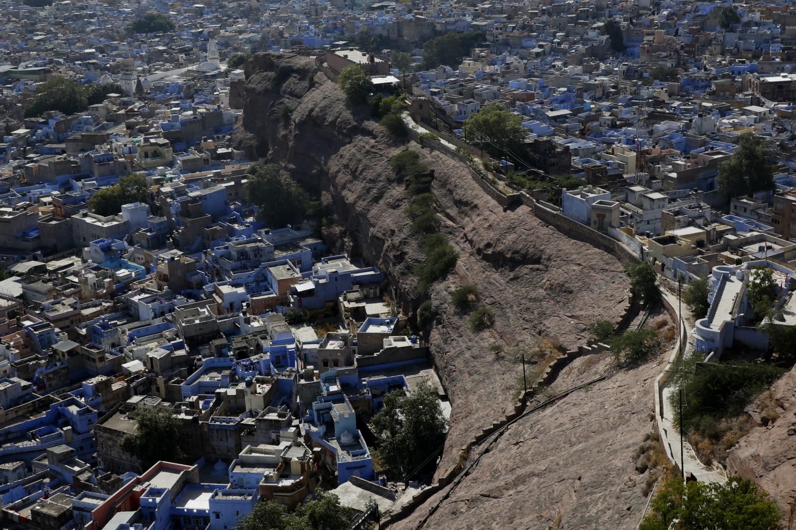Вид на Джодхпур
