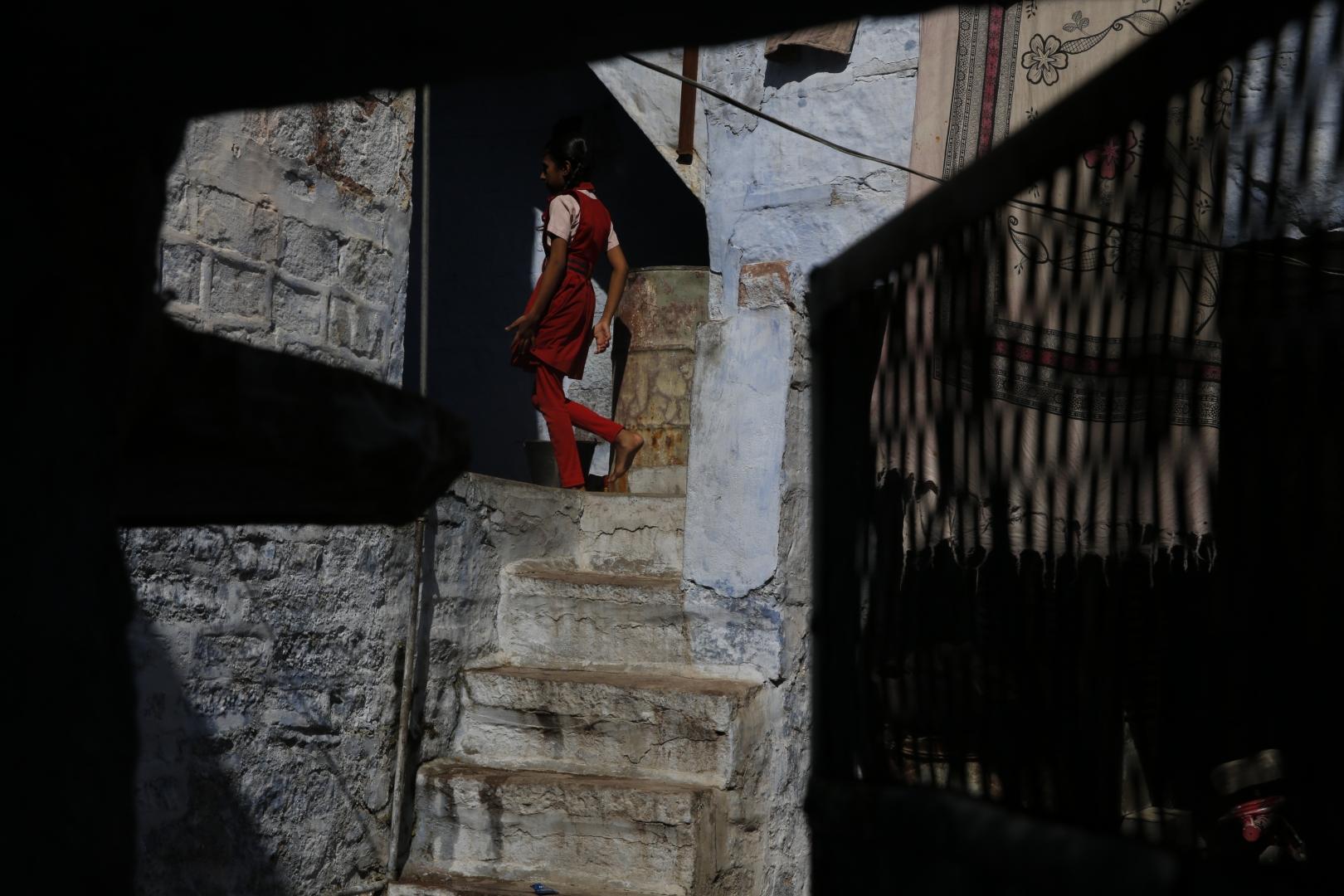 Вход в один из брахманских домов