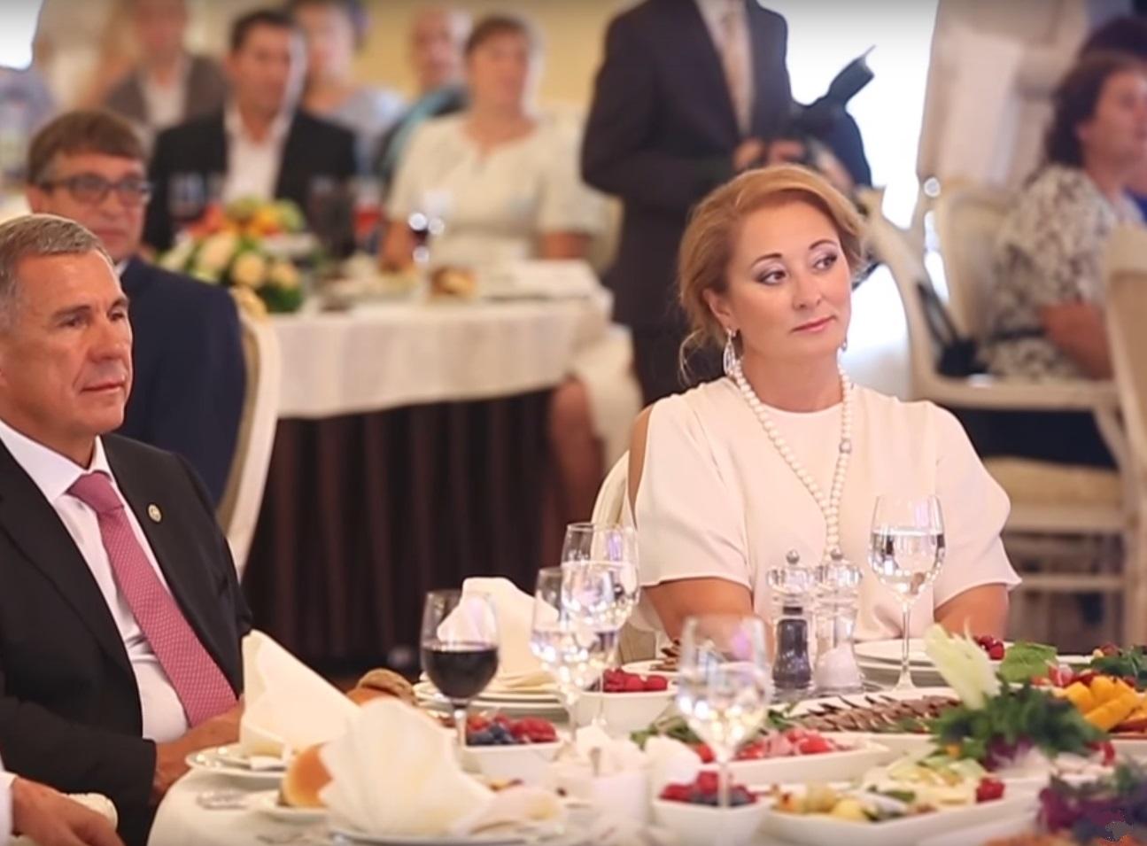 Рустам и Гульсина Миннихановы