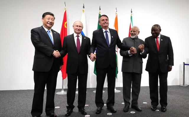 Встреча лидеров БРИКС