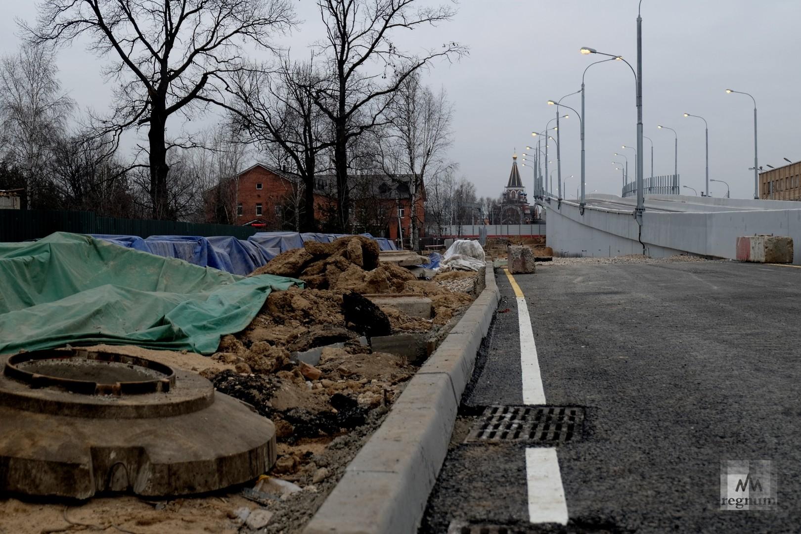 Салтыковская эстакада в день открытия