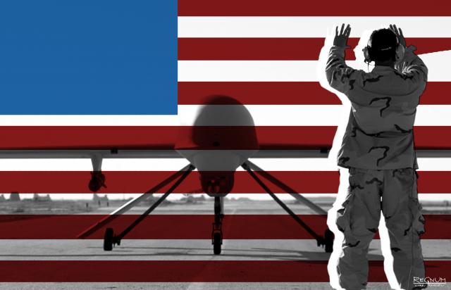 Американский беспилотник