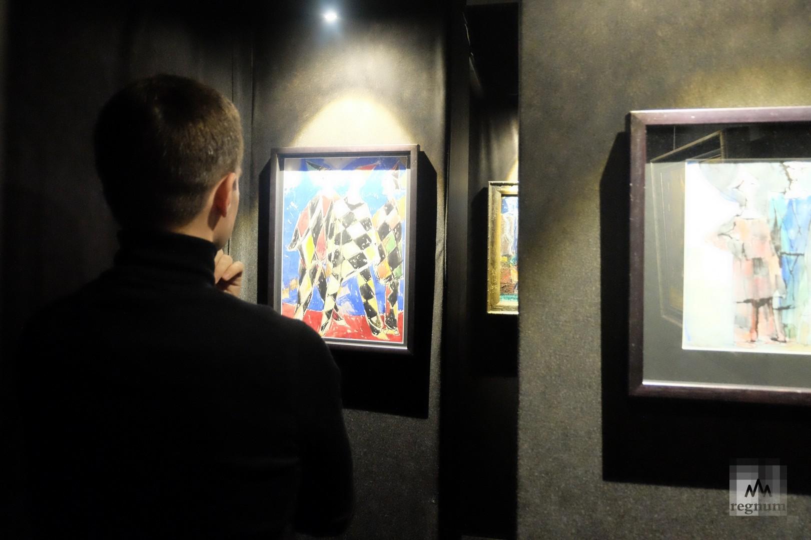 Лабиринт на выставке