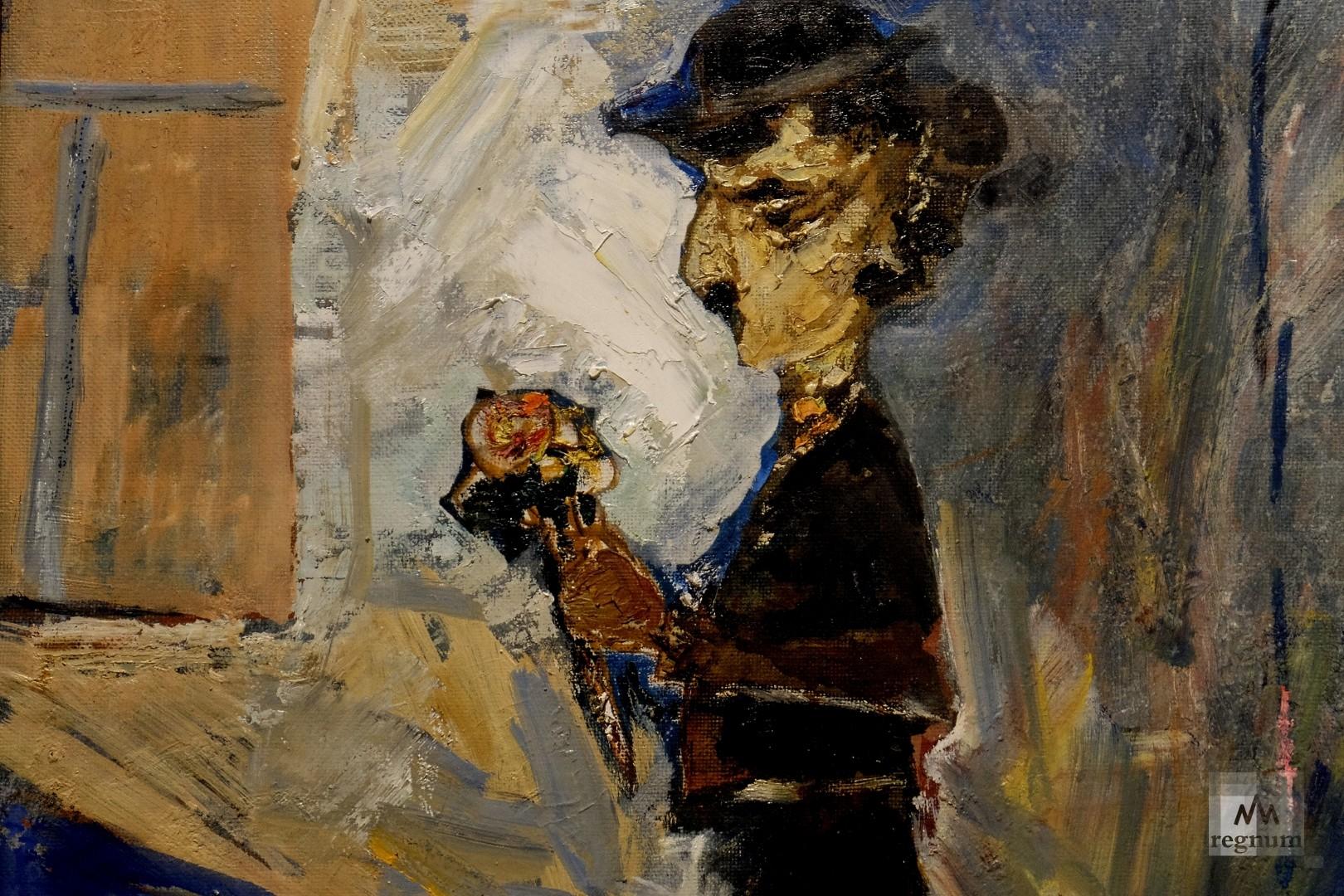 Чаплин — любимый герой художника Моисея Фейгина