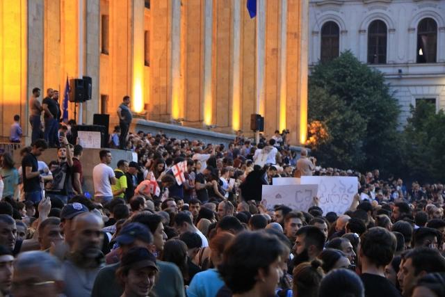 Протесты в Грузии. 2019