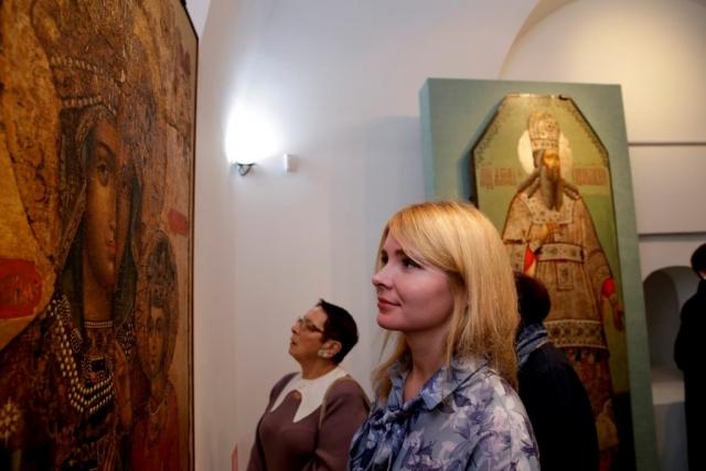 Открытие выставки «Обретение»