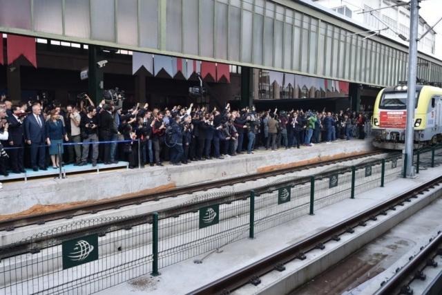 Прибытия первого грузового поезда из Китая в Турцию