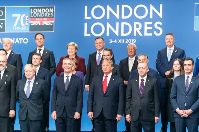 Встреча лидеров НАТО. Лондон, Великобритания