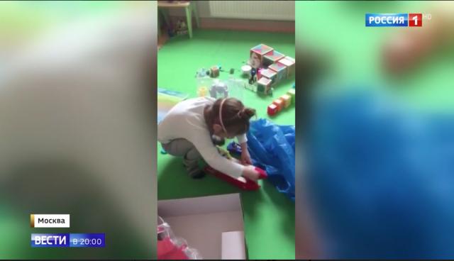 Мороз по коже: о девочке, которая с рождения живёт в московской клинике