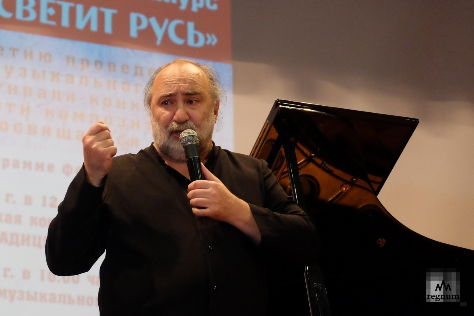 Михаил Аркадьев рассказывает историю знакомства с Г.Свиридовым