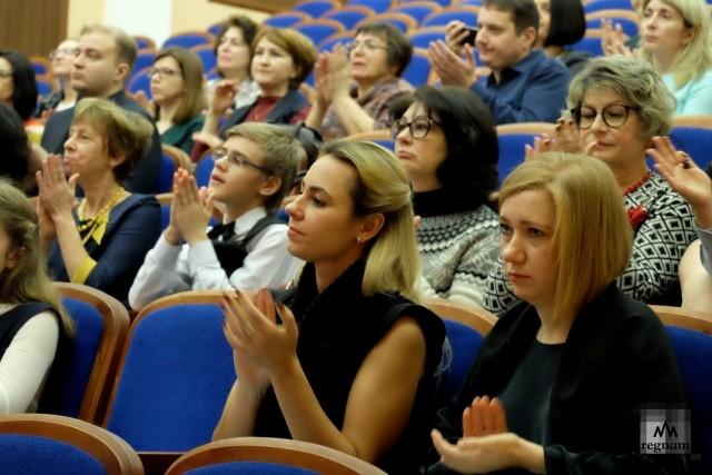 Заслуженные овации Михаилу Аркадьеву