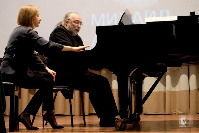 Мастер-класс для исполнителей произведений Г.Свиридова от Михаила Аркадьева