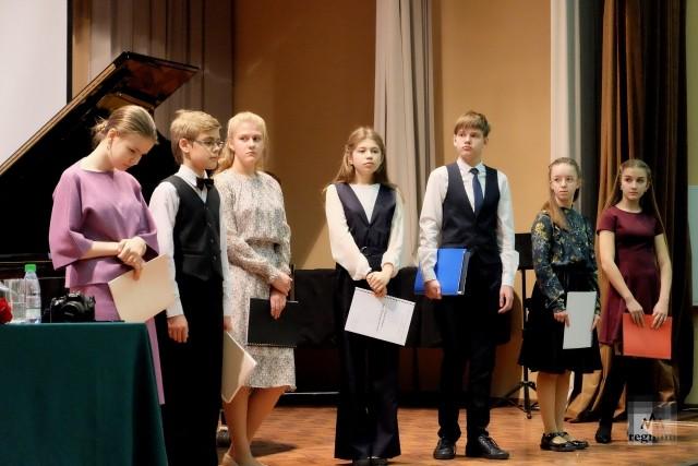 Участинки музыкального фестиваль конкурса памяти Г.В.Свиридова