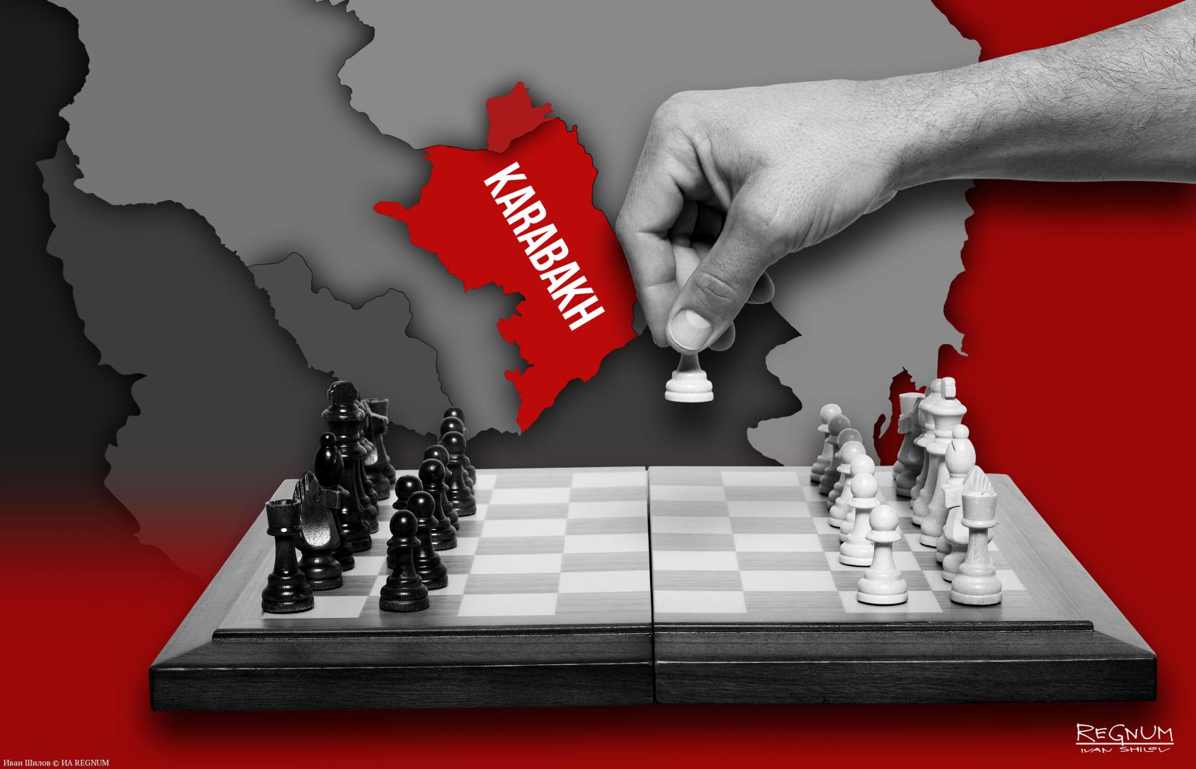 Алиев и Пашинян играют в Нагорном Карабахе со всеми «втемную»