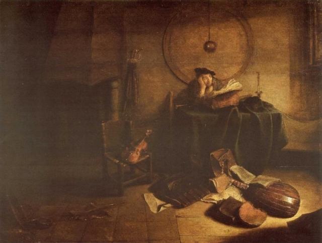 Изак де Яудервилле. Ученый в кабинете. 1630