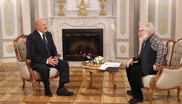 Интервью Александра Лукашенко главному редактору «Эхо Москвы» Алексею Венедиктову