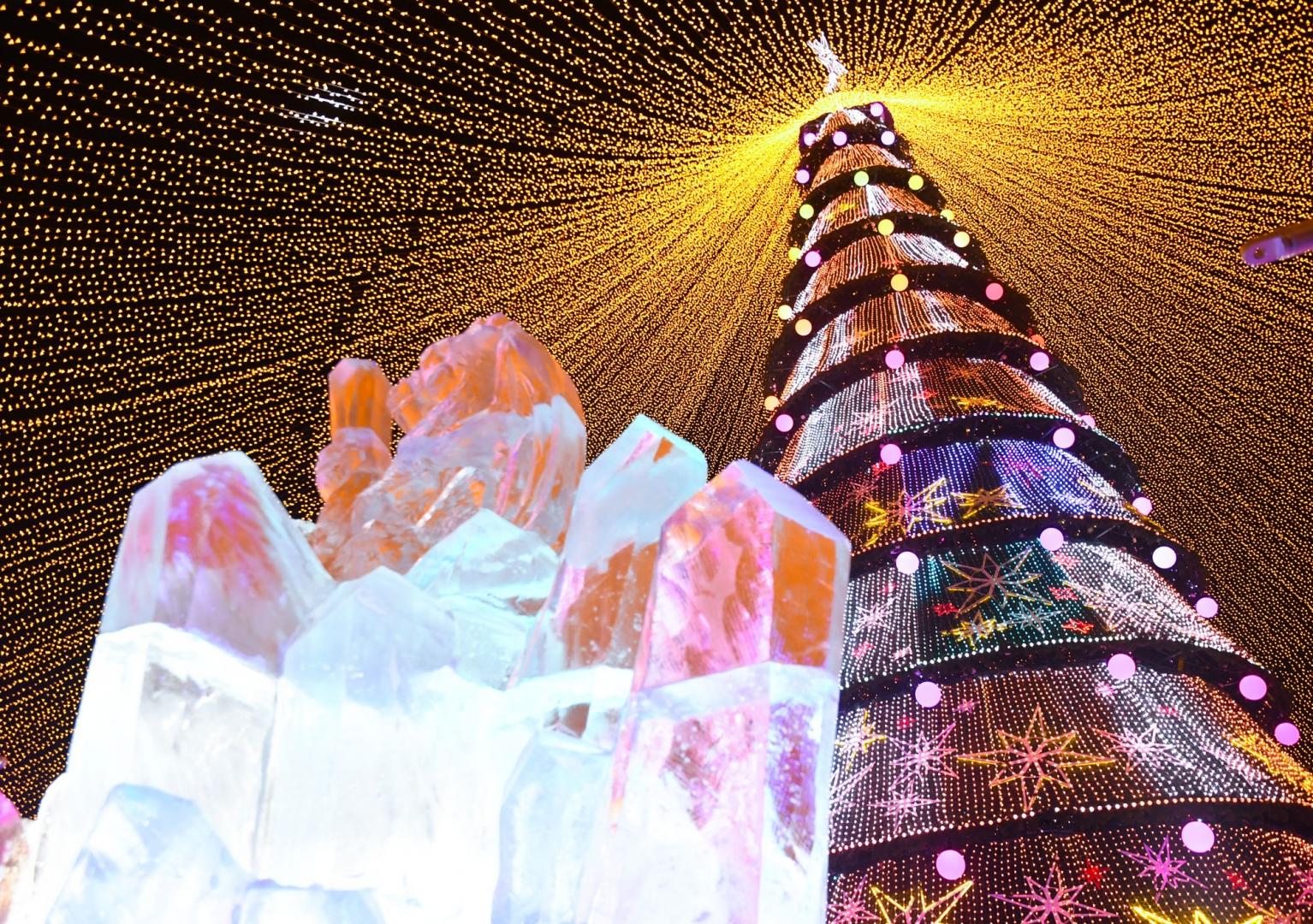 В Казани состоялось открытие главной новогодней ёлки - ИА REGNUM