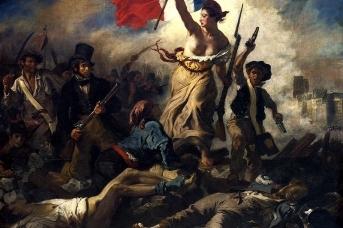 Эжен Делакруа. Свобода на баррикадах. 1830