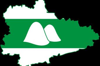 Карта-флаг Курганской области
