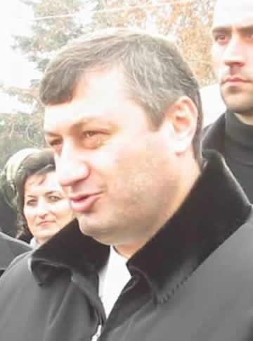 Бывший президент Южной Осетии Эдуард Кокойта