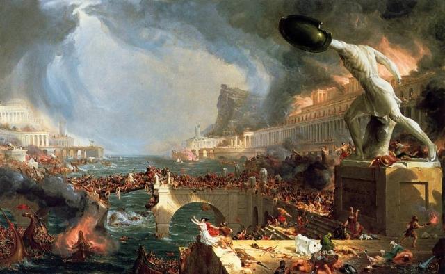 Томас Коул. Путь империи — разрушение. 1841