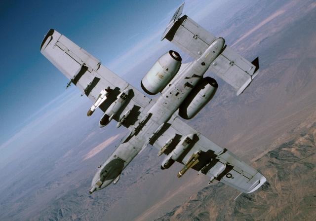 Штурмовик A-10C Thunderbolt II ВВС США