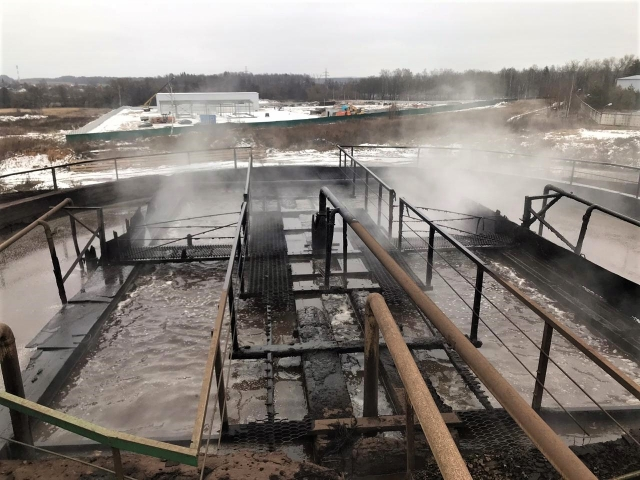 Некачественная работа очистных сооружений губит реку Путынка