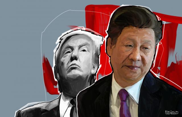 Си Цзиньпин и Трамп