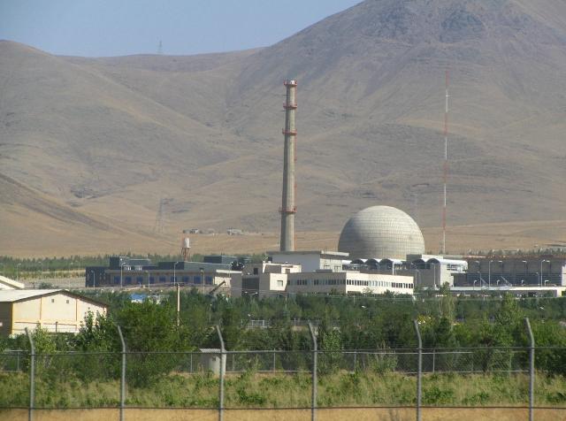 Реактор «Объект IR-40» в Араке. Иран