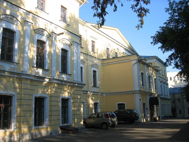 Здание Российской академии театрального искусства в Москве