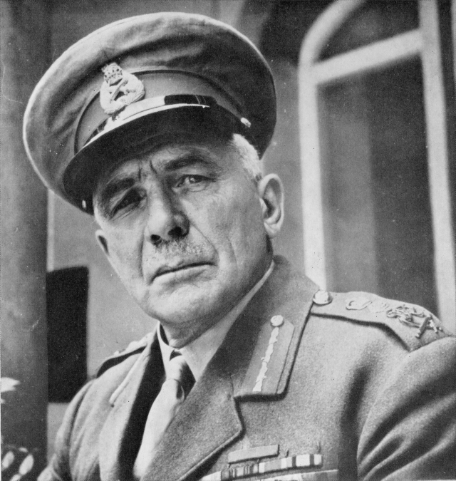 Бригадный генерал Эдмунд Айронсайд, главнокомандующий войсками Антанты в Архангельске