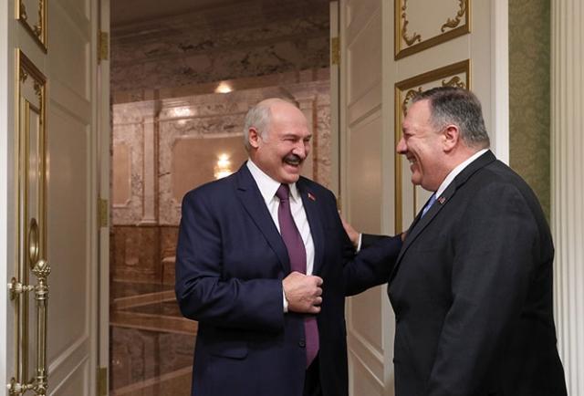Встреча Александра Лукашенко с Государственным секретарем США Майклом Помпео. 1 февраля 2020 года