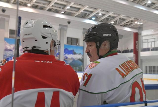 Владимир Путин и Александр Лукашенко. 7 февраля 2020 года
