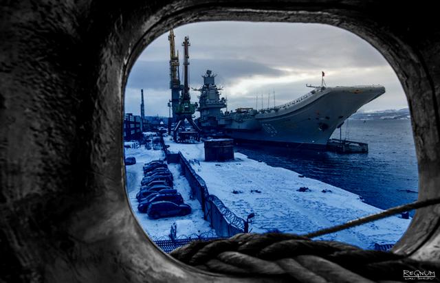 Ремонт авианосца «Адмирал Кузнецов». Как ВМС РФ стать на ступень выше