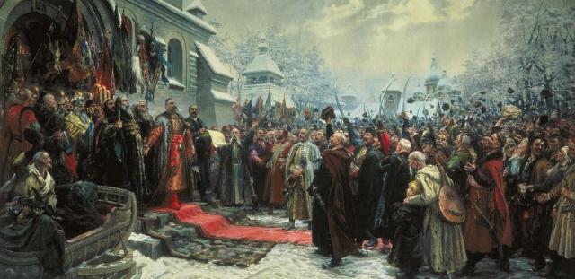 Михаил Хмелько. Навеки с Москвой, навеки с русским народом. 1951