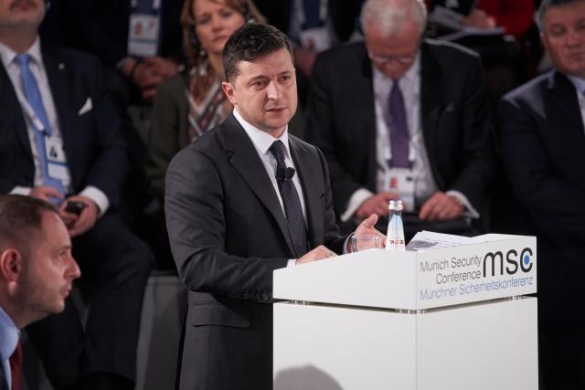 Выступление Владимира Зеленского на 56-й Мюнхенской конференции