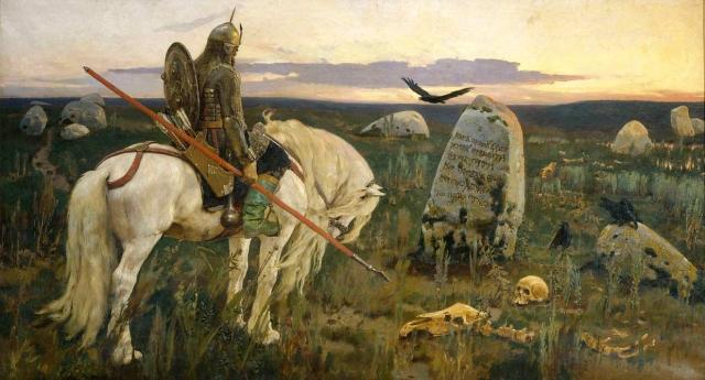 Витязь на распутье. Виктор Васнецов, 1882