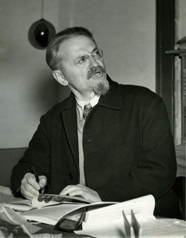 Лев Троцкий. 1937