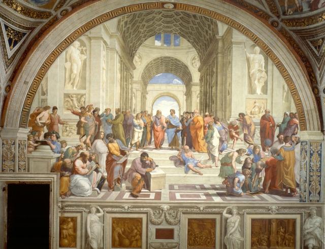Рафаэль. Афинская школа. 1510-1511