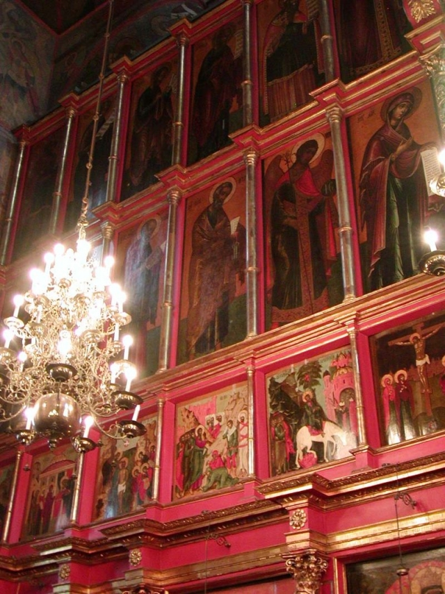 Иконостас Архангельского собора Московского Кремля