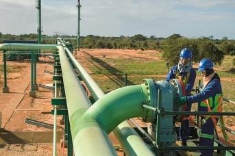 Газопровод. Мозамбик