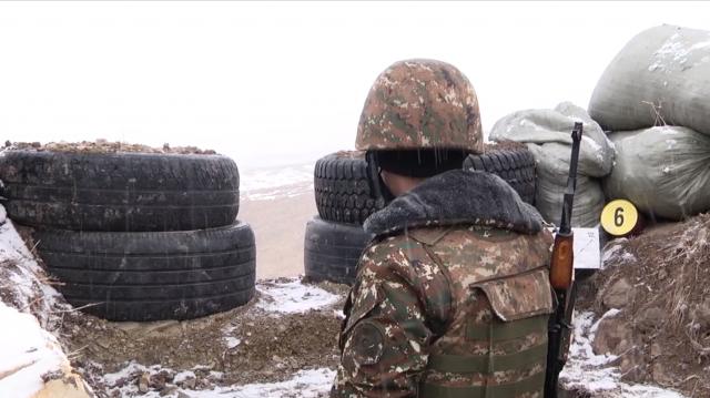Позиции Армии обороны Нагорного Карабаха