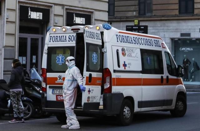 Эпидемия коронавируса в Италии