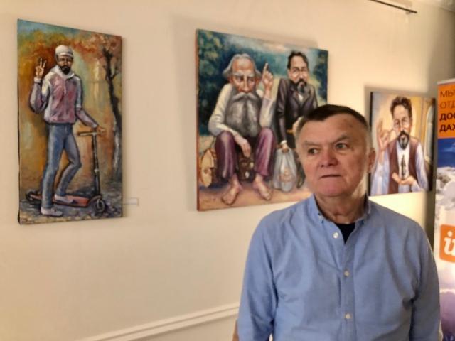 Акмаев: Давно мечтал установить Чехова в Донецке
