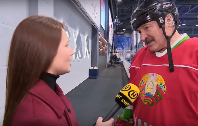 Лукашенко: Хоккей — лучшее антивирусное лекарство!