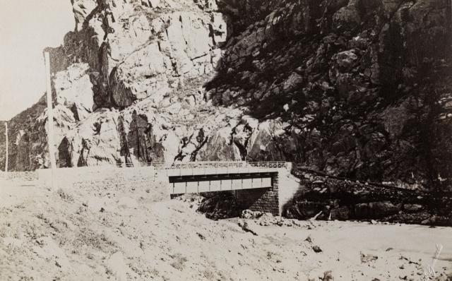 Военно-Грузинская дорога. Гюлетский мост. 1890-е